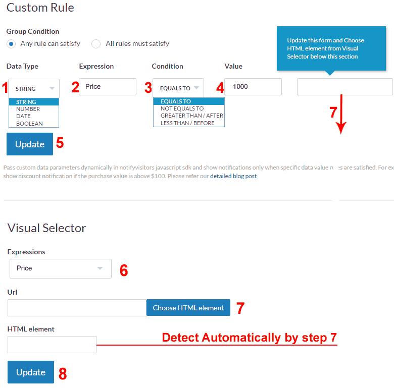 Custom-visual-notifications-selector