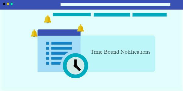 time bond push notifications