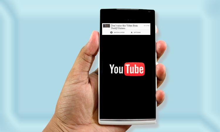YouTube Push Notifications