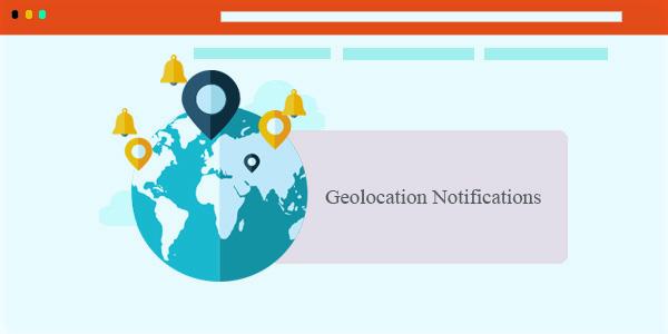 geolocation push notifications