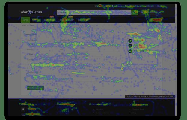 click heatmap