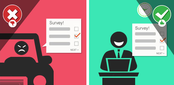 timing of survey