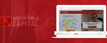 Aditya Birla Capital Signup by Heatmap