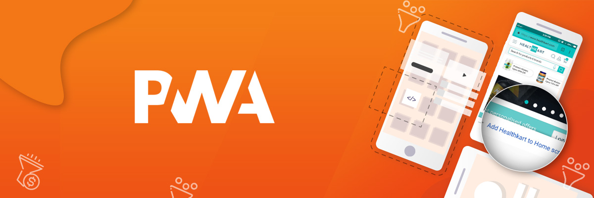 PWA to increase conversion rate banner