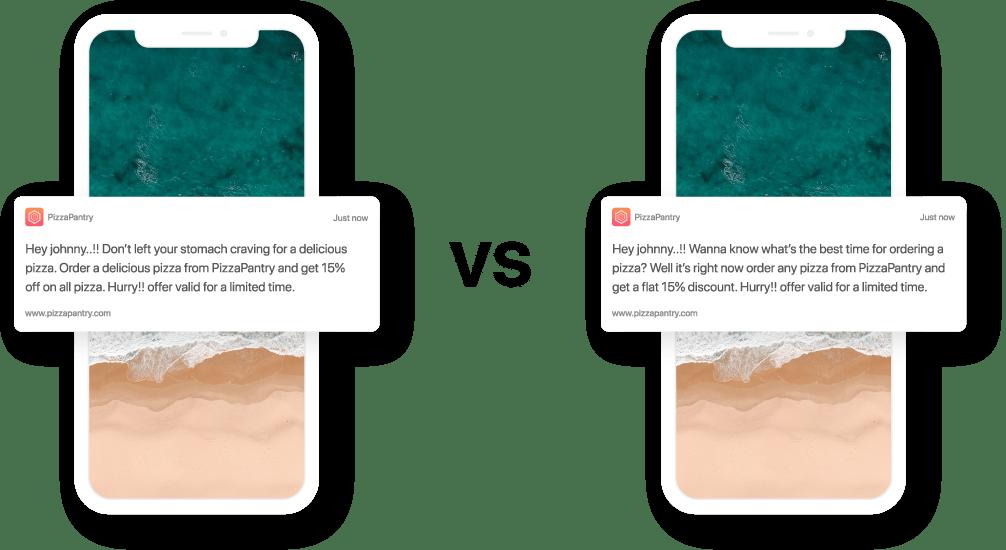 Mobile A/B testing