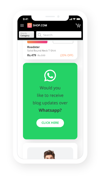 Image result for WhatsApp Opt-In