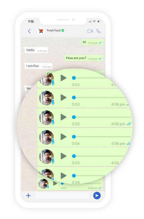Solve Customer queries in WhatsApp Business