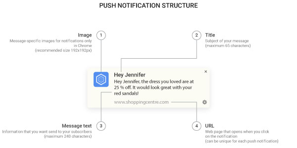 Push Notification structure