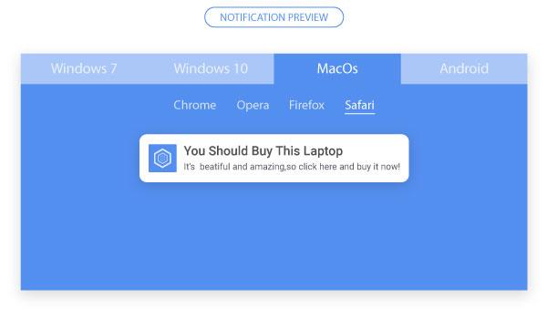 Safari Push Notification