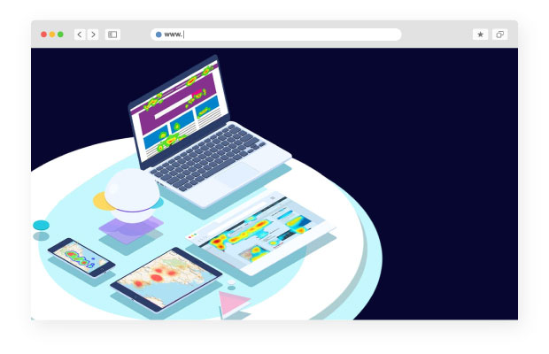 Design website heatmaps