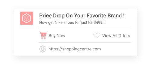 Price alert offers