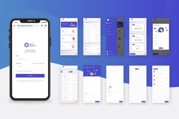 create UI design kit