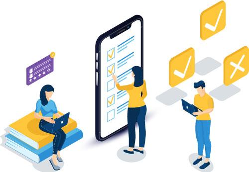 What are online surveys