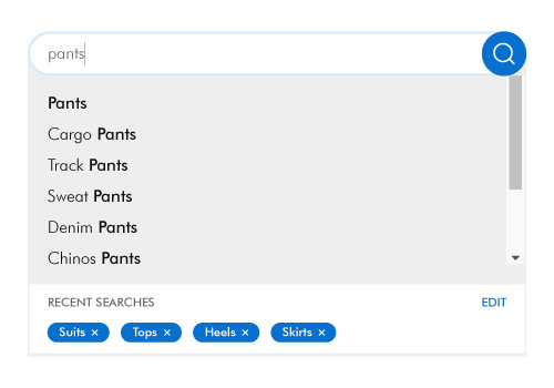 Personalize the search results