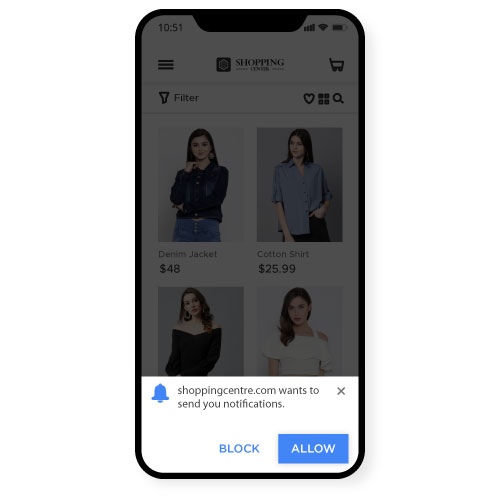 Asking for Mobile Push Permission
