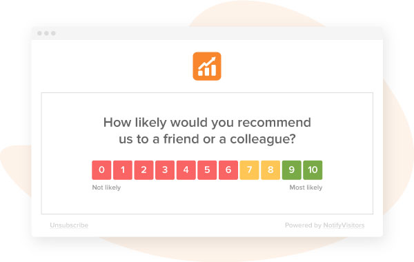 How likely would you recommend us to a friend or a colleague on a scale of 0-10