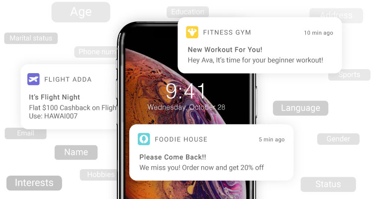 What are Real-Time Mobile Push Notifications