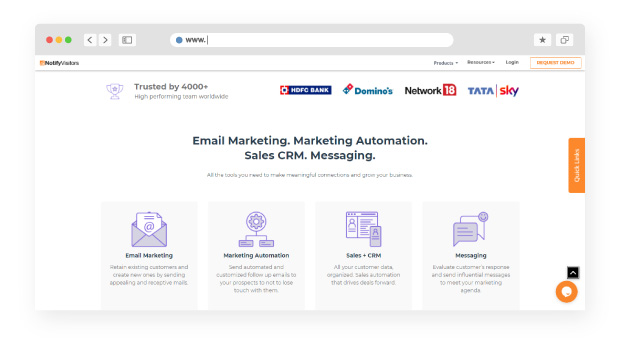 Why use Email and SMS marketing software