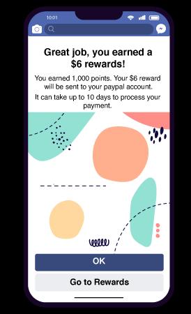 Reward users