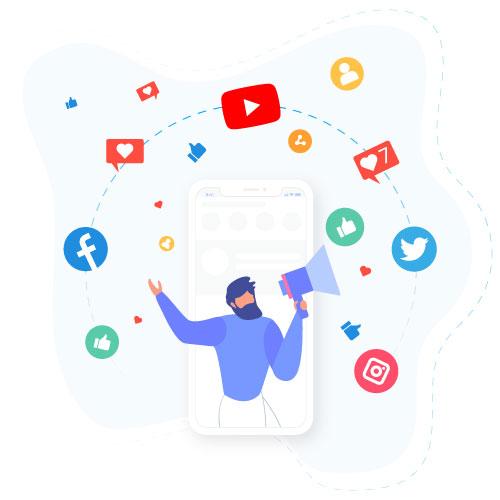 Advertising through Social Platforms