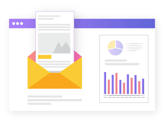 Automated Email statistics