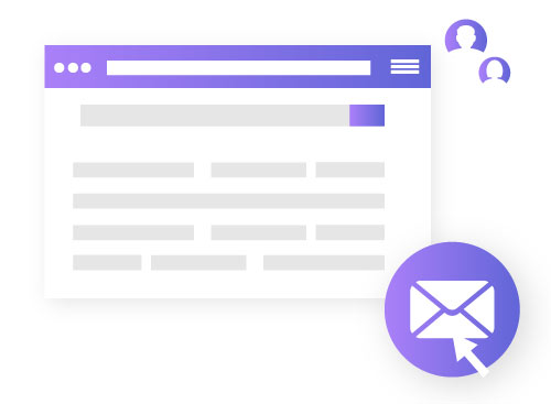 Generating sales through Email