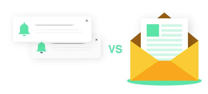 Web push vs newsletter