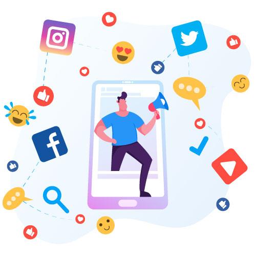 Presence-on-Social-media
