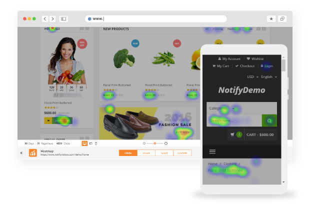 Tips On Building Trust in eCommerce Business With Heatmaps